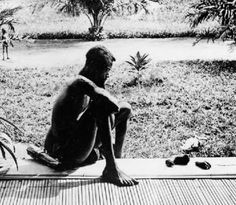 Thanks, King Leopold II of Belgium: The photo above shows a man named Nsala looking at his 5 year old daughter's amputated hand and foot. The picture was taken by Alice Harris, working as a missionary in the Congo. Human Zoo, King Leopold, Belgian Congo, History Page, Historian, Republic Of The Congo, Continents, Short Film, Black History