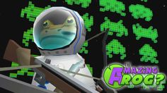 cool AMAZING FROG PLAYS SPACE INVADERS | The Amazing Frog Gameplay PART 17 Check more at http://sherwoodparkweather.com/amazing-frog-plays-space-invaders-the-amazing-frog-gameplay-part-17/