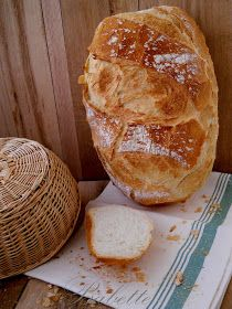 Babette: Félbarna kenyér Bread, Food, Original Recipe, Essen, Breads, Baking, Buns, Yemek, Meals