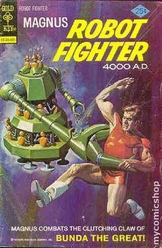 Magnus Robot Fighter (1963 Gold Key) #43 Russ Manning reprint