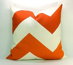 Great little orange pillow