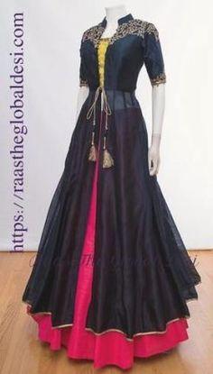 Designer dresses - Shop for designer dresses Indian Fashion Dresses, Indian Gowns Dresses, Dress Indian Style, Indian Designer Outfits, Indian Outfits, Bridal Dresses, Indian Designers, Bridal Sarees, Designer Anarkali Dresses