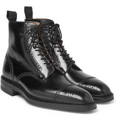 George Cleverley - Toby Leather Brogue Boots