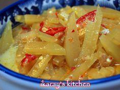 Resep Masakan Indonesia | Authentic Indonesian Recipes » Sambal Goreng Labu Siam