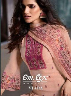 omtex presents viara series georgette suits wholesalers - Krishna Creation Printed Kurti Designs, Kurta Designs Women, Latest Kurti Designs, Cute Couple Shirts, Phulkari Suit, Cute Girl Dresses, Kurti Designs Party Wear, Designer Salwar Suits, Embroidery Suits
