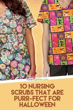 Boo! 10 Nursing Scrubs that are Perfect for Halloween