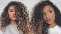 a8b895a72 13 Best curly hair with straws images in 2019 | Hair, Curly hair ...