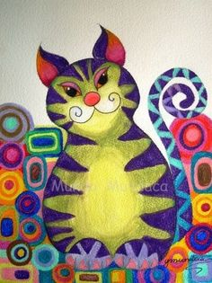 Cat in the Garden by Mundo Mundaca