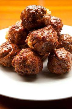 Easy Bacon Jalapeño Popper Meatballs