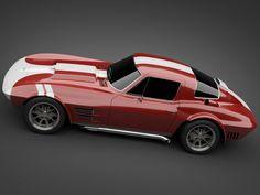 1965 GrandSport Corvette Sports Car. Year I was born... I knew it was a good year!