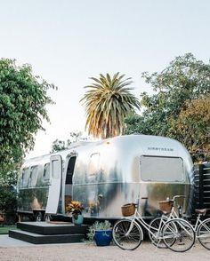 25 Tiny Hotels Proving Small is Bigger Than Ever Airstream Camping, Airstream Living, Camping Glamping, Camping Ideas, Camping Hacks, Camping Checklist, Camping Essentials, Airstream Rental, Airstream Remodel