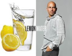 i would LOVE some lemon water...