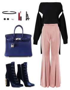 """""""20170318_Mexico City - Toronto (Junhei)"""" by aditten ❤ liked on Polyvore featuring Topshop, Dorothee Schumacher, Hermès, Thomas Sabo, BillyTheTree, John Lewis and Charlotte Russe"""