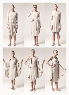 Image of Hybridus Dress / Abito Ibrido