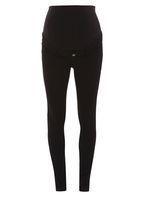Womens **Maternity Black Overbump Super Skinny Jeans- Black