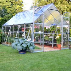 Palram Build & Grow 8 ft. x 12 ft. Hybrid Greenhouse