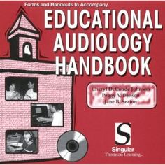2nd or 3rd year textbook. Need to buy!  Educational Audiology Handbook: CD-ROM