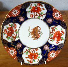 "Vintage Bone China Aynsley Gilded Cabinet Plate Cake Plate 9"" A3536 Imari Style | eBay"