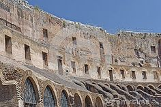 Interior Of Roman Coliseum, Rome, Italy - Download From Over 36 Million High Quality Stock Photos, Images, Vectors. Sign up for FREE today. Image: 58990655