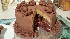 Malteaser Piñata Cake x