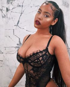 Picture of Malaika Terry Thick Girls Outfits, Curvy Girl Outfits, Curvy Women Fashion, Black Girl Fashion, Sexy Outfits, Beautiful Dark Skinned Women, Beautiful Black Girl, Gorgeous Women, Chest Workout Women