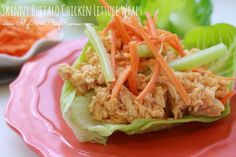 If you're wanting to start eating a little healthier you will want to definitely put these Skinny Buffalo Chicken Lettuce Wraps on your menu. You will love them.   Skinny Buffalo Chicken Lettuce Wraps Ingredients Recipe… View Post