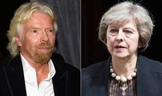 Branson And May Meet As Tycoon Demands New Poll