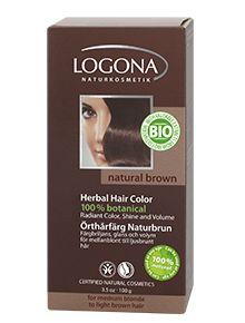 Herbal Hair Colour  Powder Natural brown