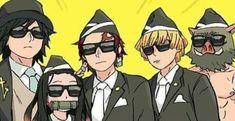 Otaku Anime, Manga Anime, Anime Art, Slayer Meme, Demon Slayer, Manga Pictures, Funny Pictures, Cartoon Tv Shows, Fandom