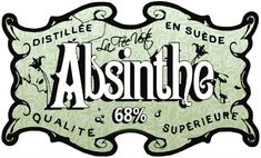Absinthe Poster of a crate label for the well known Pontarlier-based brand Absinthe Deniset; original poster size 15 x 10cm. Description from pinterest.com. I searched for this on bing.com/images