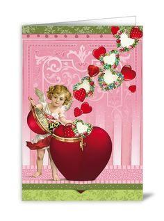 NBGB14 - Wenskaart - Heart Angel | Valentijn | kaartfanaat