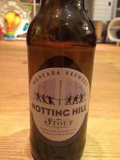 Moncada Brewery Notting Hill stout, 5.0%, London, Provided by BeerBods