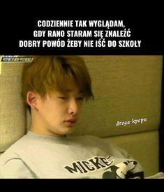 Asian Meme, Polish Memes, Funny Mems, Bulletproof Boy Scouts, Bts Jimin, Monsta X, Bts Memes, Haha, Humor