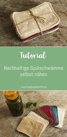 Schnittmuster & Nähanleitung Waschbare Spülschwämme / Spüllappen Best Picture For useful sewing projects For Your Taste You are looking for something, and it is going to tell you exactly what you are Sewing Hacks, Sewing Crafts, Sewing Tips, Sewing Tutorials, Christmas Sewing, Upcycled Crafts, Sewing Projects For Beginners, Free Sewing, Fabric Scraps