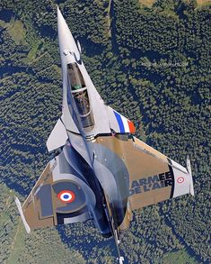 Equipped with a wide range of weapons, the Rafale is intended to… Military Humor, Military Jets, Military Veterans, Military History, Military Aircraft, Airplane Fighter, Fighter Aircraft, Fighter Jets, Rafale Dassault