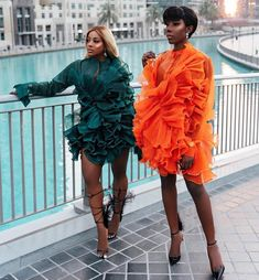 african fashion Here is the fierce outfit from Nigerian brand Style Temple that is making noice in the world of fashion. A number of our favourite style stars have been spotted in Black Girl Fashion, Dope Fashion, Fashion Killa, Star Fashion, Fashion Looks, Fashion Outfits, Fashion Trends, Orange Fashion, Fashion Pants