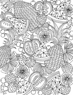 free coloring page download from Alisa Burke