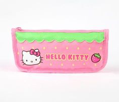Hello Kitty Pencil Case: Pink Strawberry