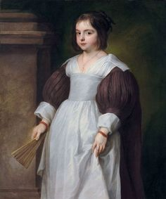Portrait of a Young Girl by Anthony van Dyck, unknown date (ca 1630s?), private collection