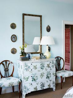 Fresh Ideas for the New Year: Add Pattern to Your Dresser.