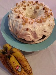 YUMMY!  Got brown bananas? MAKE hummingbird cake! $35 filled with bananas,  coconut, walnuts, and pineapples! @SWEET LITTLE KAKES on Facebook!