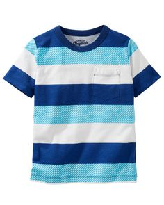 Kid Boy OshKosh Originals Pocket Tee from OshKosh B'gosh. Shop clothing & accessories from a trusted name in kids, toddlers, and baby clothes.
