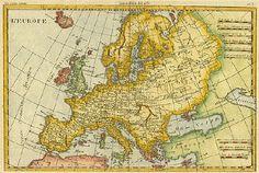 Antique Europe Map