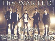 Be ready  #WalksLikeRihanna