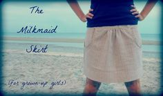 The Milkmaid Skirt for Grown-Up Girls: A Tutorial