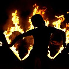 Fire's dance