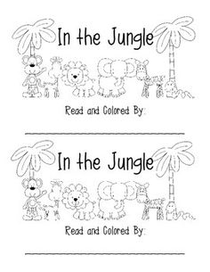 free jungle animals coloring pages play activities for kids preschool jungle zoo preschool. Black Bedroom Furniture Sets. Home Design Ideas