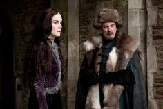 Michelle Dockery and Alun Armstrong in The Hollow Crown: Henry...
