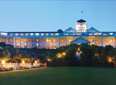 The Grand Hotel On Mackinac Island, Yes It Is From The Movie Somewhere In Time. I Love The Movie & The Place.