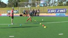 field hockey drills for kids - YouTube